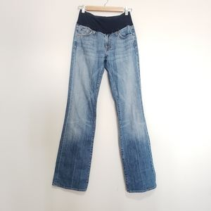 7 for all mankind bootcut maternity jeans 29